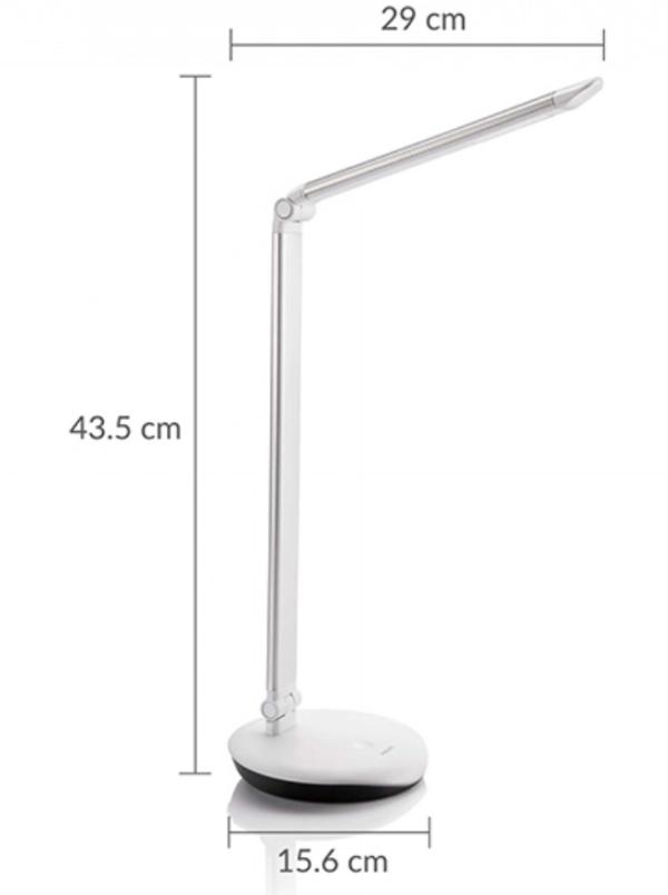 Philips Lever Desk Lamp - LED 72007 - SILVER