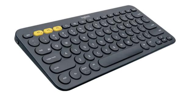 Logitech K380 Multi-Device Keyboard - Black